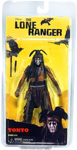 NECA Lone Ranger Movie Series 1 Action Figure Tonto[Johnny Depp] BLOWOUT SALE!