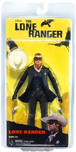NECA Lone Ranger Movie Series 1 Action Figure Lone Ranger  [Armie Hammer]