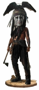NECA Lone Ranger Movie Head Knockers Tonto BLOWOUT SALE!