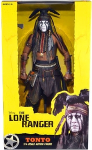 NECA Lone Ranger Movie Quarter Scale Action Figure Tonto