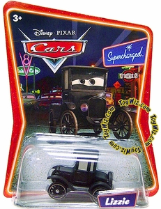 Disney / Pixar CARS Movie 1:55 Die Cast Car Series 2 Supercharged Lizzie