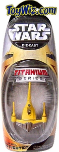 Star Wars Titanium Series EXCLUSIVE Diecast Mini Naboo Fighter