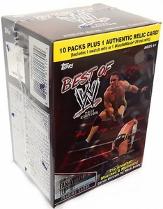 Topps 2013 Best of WWE Trading Card Blaster Box [10 Packs & 1 Relic Card]
