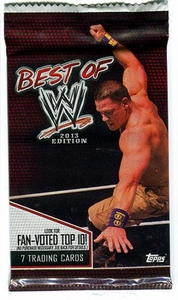 Topps 2013 Best of WWE Trading Card Pack [7 Cards]