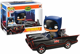 Funko POP! Batman 1966 TV Series Vinyl Vehicle Batmobile