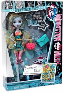Monster High Picture Day Deluxe Doll Lagoona Blue