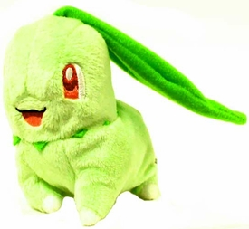 Pokemon Jakks Pacific Mini Plush Figure Chikorita