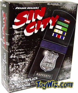 Sin City Movie Prop Replica Rafferty's Badge