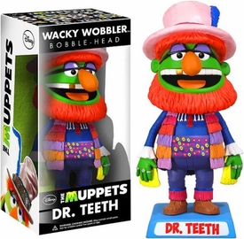 Funko Muppets Wacky Wobbler Bobble Head Dr. Teeth
