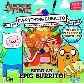 Adventure Time Game Everything Burrito  New!
