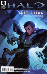 Halo Comic Book Initiation #2 (Paul Richards Cover)