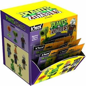 Plants Vs. Zombies K'NEX #53437 Series 1 Mystery PACK [1 Mini Figure] Pre-Order ships August