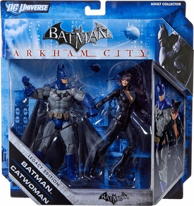 DC Batman Legacy Edition Action Figure 2-Pack Batman & Catwoman {Full Color} [Arkham City]