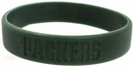Official National Football League NFL Team Rubber Bracelet Green Bay Packers [Dark Green]