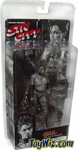 NECA Sin City Movie Series 1 Action Figure Gail (Rosario Dawson) [Black & White]