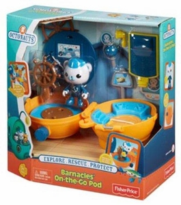 Fisher Price Octonauts Mission Vehicle Barnacles' On-the-Go Pod