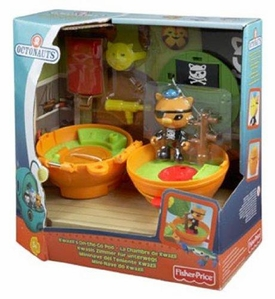 Fisher Price Octonauts Mission Vehicle Kwazii's On-the-Go Pod