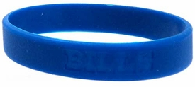Official National Football League NFL Team Rubber Bracelet Buffalo Bills Blue