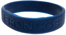Official National Football League NFL Team Rubber Bracelet Denver Broncos [Navy]