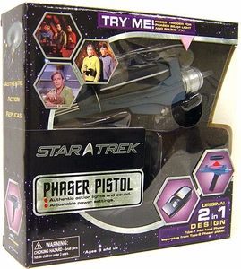 Diamond Select Toys Star Trek 40th Anniversary Phaser Pistol [Black Handle]