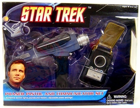 Diamond Select Toys Star Trek Phaser Pistol & Communicator Set