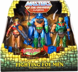 He-Man Masters of the Universe Classics Exclusive Action Figure 3-Pack Fighting Foe Men