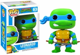 Funko POP! Teenage Mutant Ninja Turtles Vinyl Figure Leonardo Pre-Order ships June