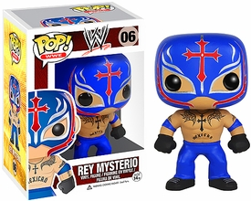 Funko POP!  WWE Wrestling Vinyl Figure Rey Mysterio New!