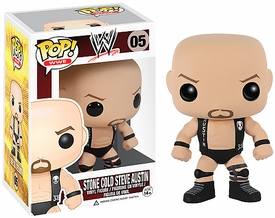 Funko POP!  WWE Wrestling Vinyl Figure Stone Cold Steve Austin New!
