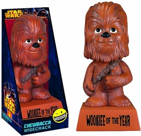 Star Wars Wacky Wisecrack Figure Chewbacca [Wookie of the Year] Pre-Order ships March