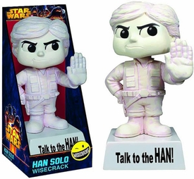 Star Wars Wacky Wisecrack Figure Han Solo [Talk to the Han!] Pre-Order ships April