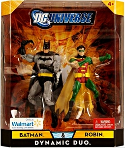 DC Universe Classics Exclusive Dynamic Duo Action Figure 2-Pack Batman & Robin