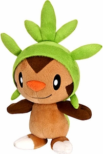 Pokemon XY TOMY 8 Inch Basic Plush Chespin