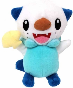 Pokemon TOMY 8 Inch Basic Plush Oshawott [Smiling with Clam]