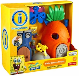 SpongeBob Squarepants Imaginext ExclusiveBikini Bottom Playset