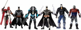 DC Comics Multiverse Set of 6 Action Figures [Batman, Azrael, Bane, Armored Batman, Deashot & Mr. Freeze]