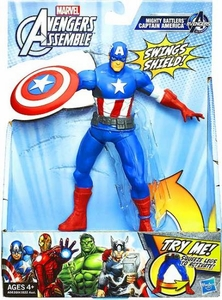 Marvel Avengers Assemble Mighty Battlers Captain America New!