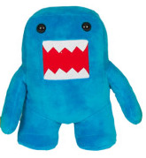 Domo 10 Inch Plush Figure Blue Domo