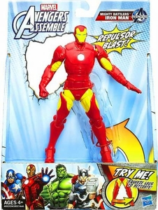 Marvel Avengers Assemble Mighty Battlers Iron Man New!