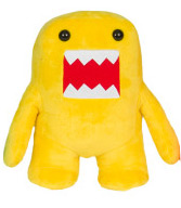 Domo 10 Inch Plush Figure Yellow Domo