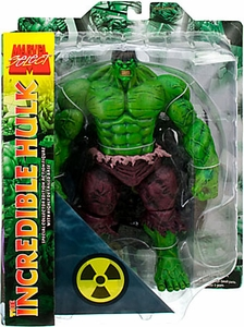 Disney Marvel Select Exclusive Action Figure Incredible Hulk [GREEN]
