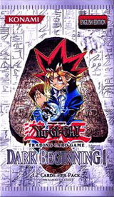YuGiOh Dark Beginning Volume 1 Booster Pack