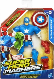 Marvel Super Hero Mashers Action Figure Captain America