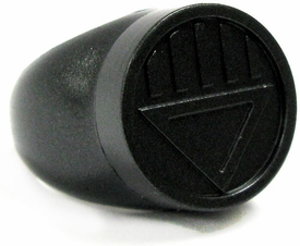 Green Lantern: Blackest Night Black Lantern Ring One Size FIts All!