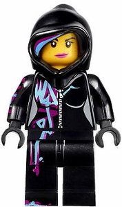 LEGO The Movie LOOSE Minifigure Wyldstyle  [Hoodie Up]