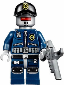 LEGO The Movie LOOSE Minifigure Robo SWAT with Hat