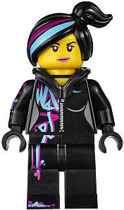 LEGO The Movie LOOSE Minifigure Wyldstyle [Hoodie Down]