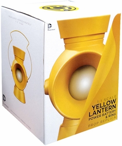 DC Collectibles Yellow Lantern 1:1 Power Battery & Ring