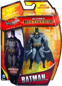 DC Comics Multiverse 4 Inch Action Figure Batman [Arkham City Batsuit]