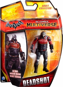 DC Comics Multiverse 4 Inch Action Figure Deadshot [Arkham Origins]